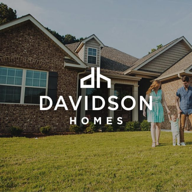 Davidson Homes Hero Image