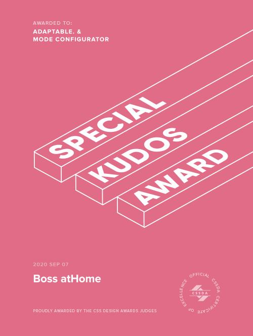 Special Kudos